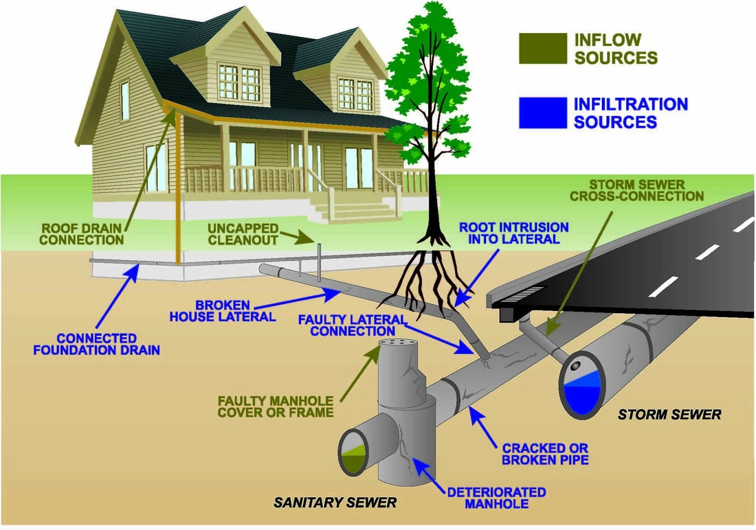Civil engineering for Gravity septic system design